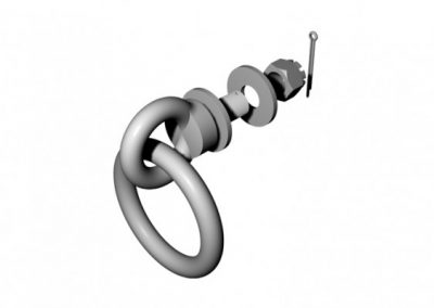 GALVANIZED STEEL MOORING RING