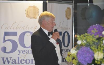 Walcon Marine Italia saluta lo storico fondatore Robin Walters – Caro Robin, ci mancherai!